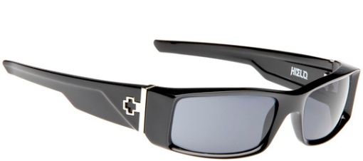 HIELO SHINY BLACK/GREY POLARIZED